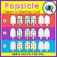 Summer Popsicle clipart and greeting cards covers