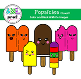 Popsicle clipart summer Kawaii (été, pop glacé)