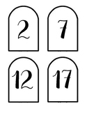 Popsicle countdown numbers