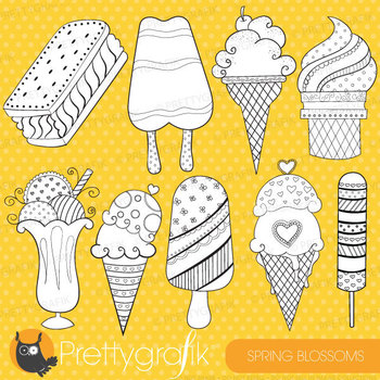 Popsicle stamps commercial use, vector graphics, images - DS311