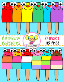 Popsicles Clipart