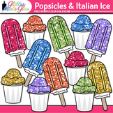 Rainbow Popsicle Clip Art: Summer Graphics {Glitter Meets Glue}