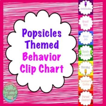 Popsicles Themed Behavior Chart