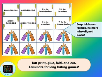 Popsicles and Place Value {Memory Match}