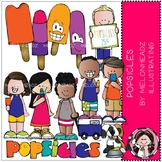 Popsicles clip art - COMBO PACK - by Melonheadz