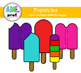 Popsicles clipart summer (été, pop glacé)