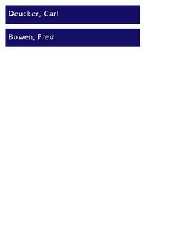 Popular Authors - Shelf Labels - 22mm - A4 Paper