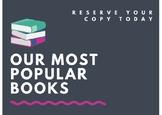 Popular Books Sign