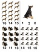 Popular Dogs: Count and Clip Cards for Math Centers