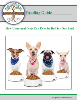 How Unnatural Diets Can Even be Bad for Our Pets! - Reading Guide