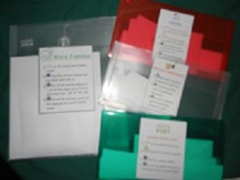 Popular Multipack- FOUR games: Word Families, Sentence Com
