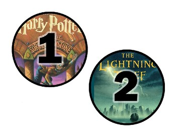 Popular Novels Table Numbers #1-30