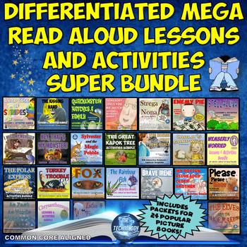Mega Read Aloud Reading Lessons & Activities Super Bundle