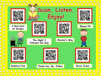 Popular Read-Alouds Using QR Codes
