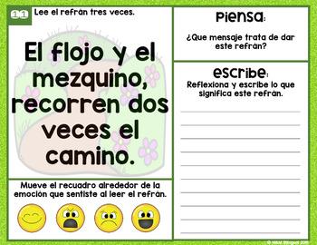 Popular Sayings {Spanish}