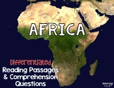 Africa Reading Passages Leveled Texts