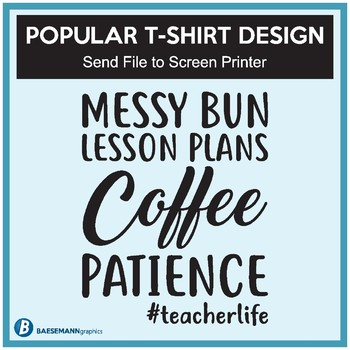 Popular T-Shirt Design - Send File to Screen Printer