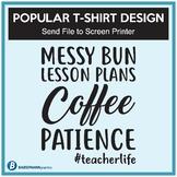 Popular T-Shirt Design - Send File to Screen Printer