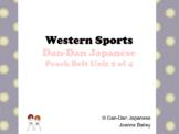Popular Western Sports/Hobbies [Peach Belt Unit 2 of 4]