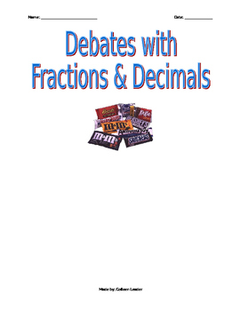 Popular debate topics with Fractions and Decimals