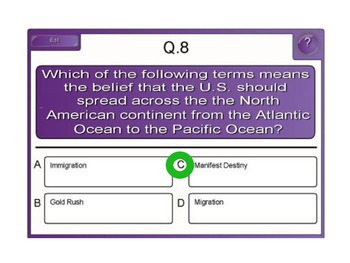 Population Change in the USA SMART/PPT Lesson