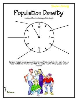 Population Density Activity