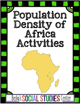 Population Density and Geography of Africa - Analysis, Wri