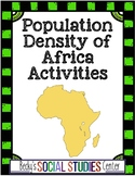 Geography of Africa Activity and Writing Project