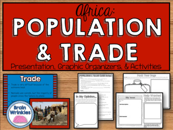 Africa - Where People Live, Work, and Travel (SS7G3)