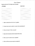 Population Dynamics Review Questions Homework