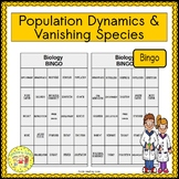 Population Dynamics and Vanishing Species BINGO