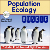 Population Ecology Bundle | Printable and Digital Versions Distance Learning