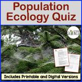 Population Ecology Quiz
