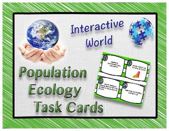 Population Ecology Task Cards