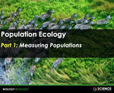 PPT - Population Ecology & Population Dynamics