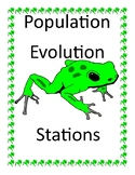 Population Evolution Lab Stations - Hardy Weinberg Exceptions