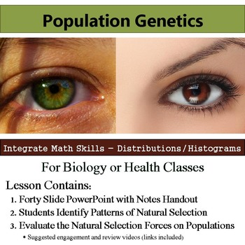 Population Genetics - Allele Frequency and Forces of Natural Selection
