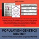 Population Genetics Bundle: Power Point and Differentiated Graphic Organizer INB