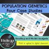 Population Genetics: Four Case Studies in Genetic Diversity