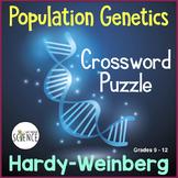 Population Genetics Hardy Weinberg Crossword Puzzle