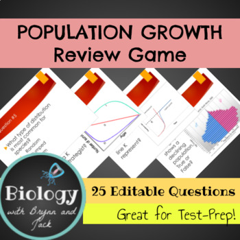 Population Growth Review Game