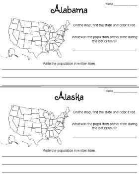 Population Investigation Webquest
