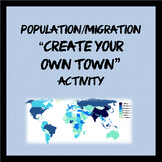 Population/Migration and Push/Pull factors activity