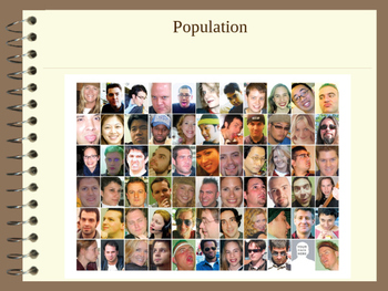 Population Powerpoint including Density, Birth Death Rate,