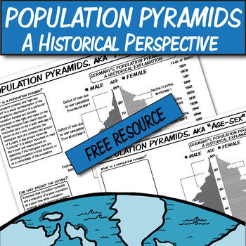 *Free* Population Pyramids: A Historical Perspective (Germany) *Guided Lecture*