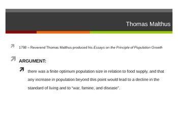 Population Size & Resource Consumption Theory - PowerPoint Presentation