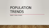 Population Trends PowerPoint (World Geography Complete Han