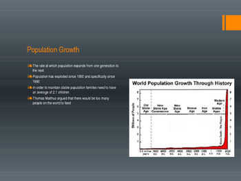 Population and Migration ppt