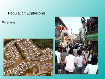 Population/Urbanization Powerpoint
