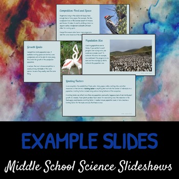 Populations: A Life Sciences Slideshow!